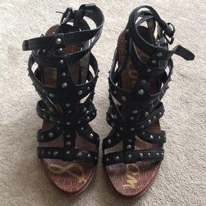 Sam Edelman Kieth chunky heel sandal- size 9 1/2